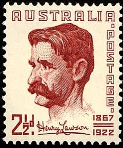 Henry Lawson was deaf  from the age of 9. It had a profound effect on his life.