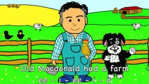 One day, Mr McDonald's farm may host a boot camp for people learning Auslan