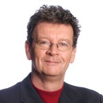 A picture of Red Symons, a radio personality